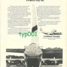 LOCKHEED GEORGIA - 1973 - THE HERCULES CARGO AIRCRAFT PRINT AD