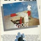 GESCO ITALIA - 1984 OFFICE FURNITURE PRINT AD
