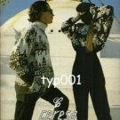 CERESA - 1987  ITALIAN MEN & WOMEN'S KNITWEAR FASHION PRINT AD