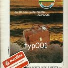 EUROFLEX - 1984  THE RIGHT WAY TO TRAVEL BAGS PRINT AD LA '84 OLYMPICS SUPPLIER