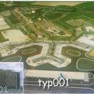 KLM - SCHIPOL HILTON AND AIRPORT AERIAL VIEW POSTCARD