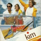 KIM CIGARETTES - 1984  LIFE IN COLOR PRINT AD