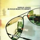 ESSILOR - 1984  VARILUX LENSES IN FOCUS FROM 0 TO INFINITY PRINT AD