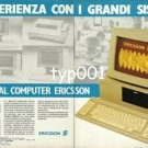 ERICSSON - 1984 - EXPERIENCE WITH LARGE COMPUTER SYSTEMS PRINT AD