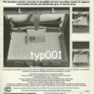 CCS  - 1984 -  SECRET CONNECTION BRIEFCASE RECORDER PRINT AD