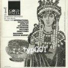 GOLD ITALIA - 1984 MILAN INT'L TRADE FAIR JEWELRY GOLDWARE WATCHES GEMS PRINT AD