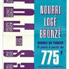 AIR FRANCE - 1969 JET TOURS TO TURKEY & GREECE BROCHURE