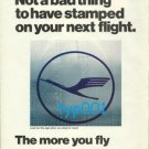 LUFTHANSA - 1975 - MADE IN GERMANY PRINT AD