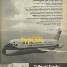 MCDONNELL DOUGLAS - 1975 - DC-9 SERIES 50 JETS PRINT AD