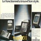 OMEGA - 1974 - DE VILLE WATCH -  FUNCTION FOUND ITS STYLE FRENCH PRINT AD