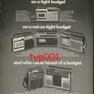 PANASONIC - 1975 CASSETTE RECORDERS FOR EVERY BUDGET OR THE RICH PRINT AD