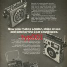 PANASONIC - 1976 FIRE CRIME DISASTER SOUND BEAUTIFUL PRINT AD