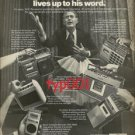 PANASONIC - 1976 HOW TO MAKE SURE YOUR CANDIDATE LIVES UPTO  HIS WORD PRINT AD