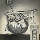 OLD BUSHMILLS WHISKY - 1977 YACHTSMAN GLASS BY HENRY HALEM PRINT AD