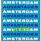 KLM - 1963 AMSTERDAM ADVANTAGES TRAVEL AGENTS & AIRLINE PERSONNEL ONLY BROCHURE