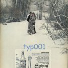 SMIRNOFF - 1976 LADY IN FUR BY MAXIMILIAN OF NEW YORK PRINT AD