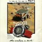 OMEGA - 1998 THE MOON WATCH NOW ON ITS WAY TO MARS PRINT AD