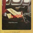 BENSON & HEDGES - 1975 - HIGH FLYING STOCK PRINT AD