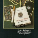 BENSON & HEDGES - 1980 - ENJOY THE LUXURY PRINT AD