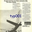 AIRBUS INDUSTRIE - 1976 - BUY AIRBUS NOW OR WAIT 6 YEARS PRINT AD - AIR FRANCE