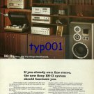 SONY - 1976 - NEW SONY SYSTEM SHOULD FASCINATE YOU PRINT AD - 2
