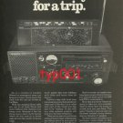 SONY - 1979 - GET READY FOR A TRIP PRINT AD