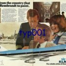 KLM - 1976 - FROM THE PEOPLE THAT TAUGHT REMBRAND TO PAINT PRINT AD
