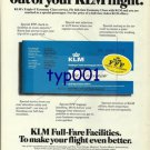 KLM - 1976 - HOW TO GET MORE OUT OF KLM FLIGHT PRINT AD