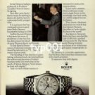 ROLEX - 1979 - JOSE IGNACIO DOMECQ THE KING TASTER PRINT AD - ROLEX DATEJUST