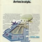 PAN AM - 1976 - TRAVEL IN STYLE ARRIVE IN STYLE PRINT AD