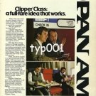 PAN AM - 1979 - CLIPPER CLASS A FULL FARE IDEA THAT WORKS PRINT AD