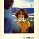 LUFTHANSA - 1979 - FRANKFURT IS GREAT FOR CONNECTIONS  PRINT AD