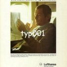 LUFTHANSA - 1979 - THE BUSINESS CLASS SERVICE  PRINT AD