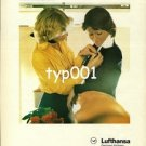 LUFTHANSA - 1979 - THE CREW IS THE BEST ADVERTISEMENT PRINT AD