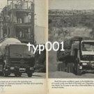 MERCEDES BENZ - 1979 MERCEDES TRUCKS THE SOUND INVESTMENT PRINT AD - 1