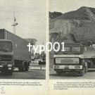 MERCEDES BENZ - 1979 MERCEDES TRUCKS THE SOUND INVESTMENT PRINT AD - 3