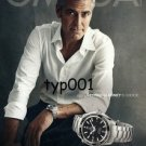 OMEGA - 2011 - GEORGE CLOONEY'S CHOICE TURKISH PRINT AD - SEAMASTER
