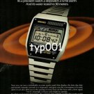 SEIKO - 1979 - LC DIGITAL QUARTZ ALARM CHRONOGRAPH PRINT AD