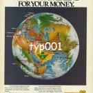 SAUDIA SAUDI ARABIAN AIRLINES - 1980 STRONG ROUTES PRINT AD