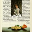 ROLEX - 1980 - NO OTHER VOICE CAN DESCRIBE A ROLEX SO BEAUTIFULLY PRINT AD