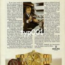 ROLEX - 1983 - EVERY FRANCO ZEFFIRELLI FILM IS SCHEDULED BY A ROLEX  PRINT AD