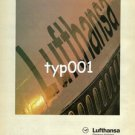 LUFTHANSA - 1980 - UNDOUBTEDLY A GREAT NAME IN AIRLINES PRINT AD