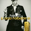 PACO RABANNE - 2009 - ONE MILLION MEN'S FRAGRANCE FRENCH PRINT AD
