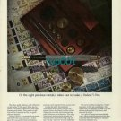 PARKER - 1973 - IT TAKES 4 PRECIOUS METALS TO MAKE PARKER 75 PEN PRINT AD