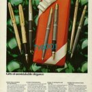 PARKER - 1973 - GIFTS OF UNMISTAKABLE ELEGANCE PRINT AD