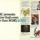 BOAC - BEA - BRITISH AIRWAYS - 1974 - AN AIRLINE EVEN BETTER THAN BOAC PRINT AD