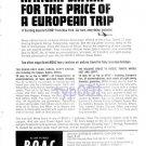 BOAC - 1964 - AFRICAN SAFARI FOR PRICE OF EUROPEAN TRIP - PRINT AD