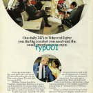 JAL JAPAN AIR LINES - 1973 - DAILY 747S TO TOKYO PRINT AD
