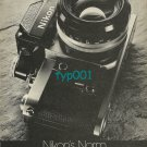 NIKON - 1974 - NIKON'S NORM PRINT AD