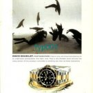 ROLEX - 2000- DAVID DOUBILET UNDERWATER PHOTOGRAPHER PRINT AD